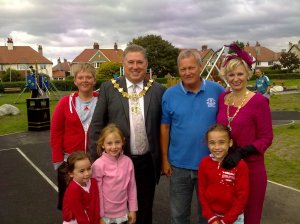 Mayor & Mayoress of Wirral Visit Meols Park
