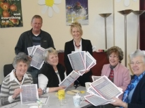 Roy, Esther and helpers at St John's Church Centre