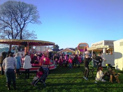 Fun in Meols Park