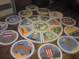 Meols Park Mosaic Project 2011