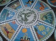 Meols Park Mosaic in the making!