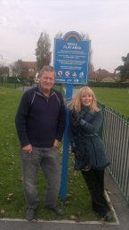 Toyah Visits Meols Park before making Hoylake 'Rock'