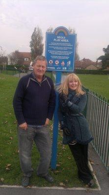 Toyah Visits Meols Park before making Hoylake 'Rock'