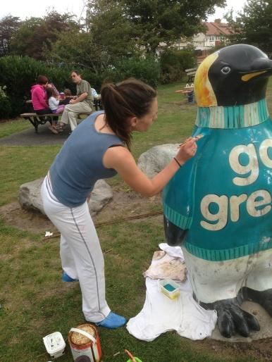 Penguin gets a Makeover